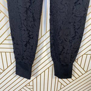 Ted Baker London Pants & Jumpsuits - Ted Baker Cylar Lace Detail Formal Joggers Black